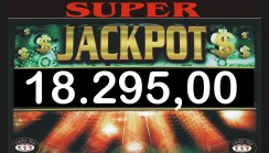 Vinto jackpot di sala di 18.295,00