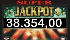 Vinto jackpot di sala di 38.354,00
