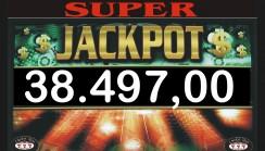 Vinto jackpot di sala di 38.497,00