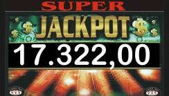 Vinti due jackpot di sala di 17.322,00 e 7.374,00