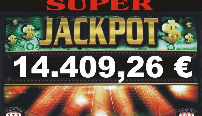 JACKPOT DI SALA DA 14.409,26 !!!!