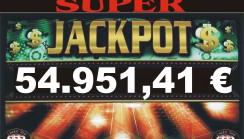 JACKPOT DI SALA DA 54.951,41 !!!!