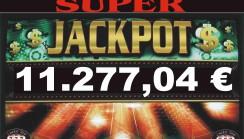 JACKPOT DI SALA DA 11.277,04 !!!!