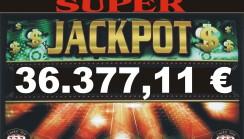JACKPOT DI SALA DA 36.377,11 !!!!