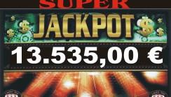JACKPOT DI SALA DA 13.535,00 !!!!