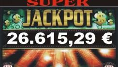JACKPOT DI SALA DI NATALE DA 26.615,00 !!!!