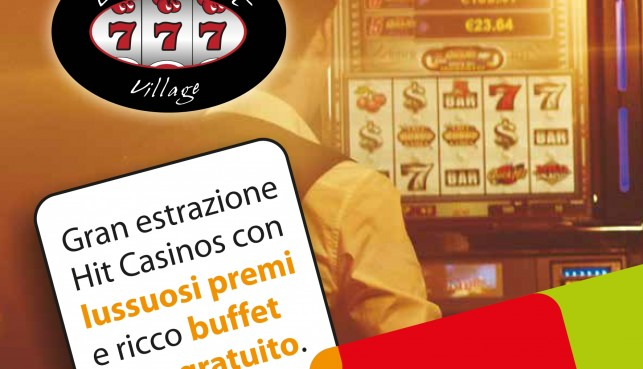 "serata "" hit casinò "" alla lucky slot village di Pistoia il 15-03-13"
